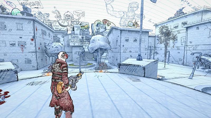 ¡Ya disponible para descargar Drawn to Death!, la imaginación es la protagonista
