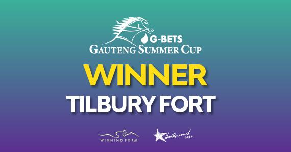 2018 G-Bets Gauteng Summer Cup Winner - TILBURY FORT