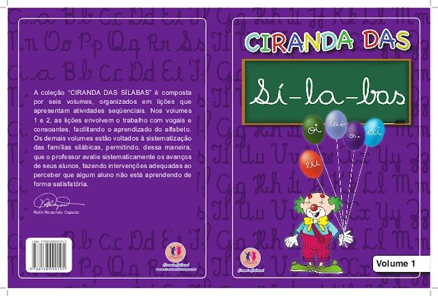 BAIXE EM PDF - CIRANDA DAS SÍLABAS - VOLUME 1