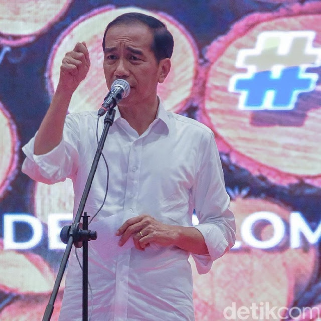 Jokowi: Jangan Tunjuk-tunjuk Antek Asing Padahal Dia Sendiri Antek Asing