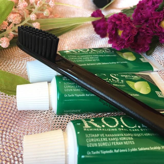 rocs black edition diş fırçası incelemesi