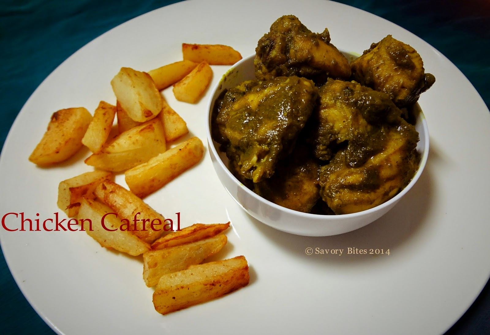 Goan Chicken Cafreal