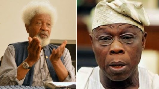 Image result for Soyinka: Obasanjo