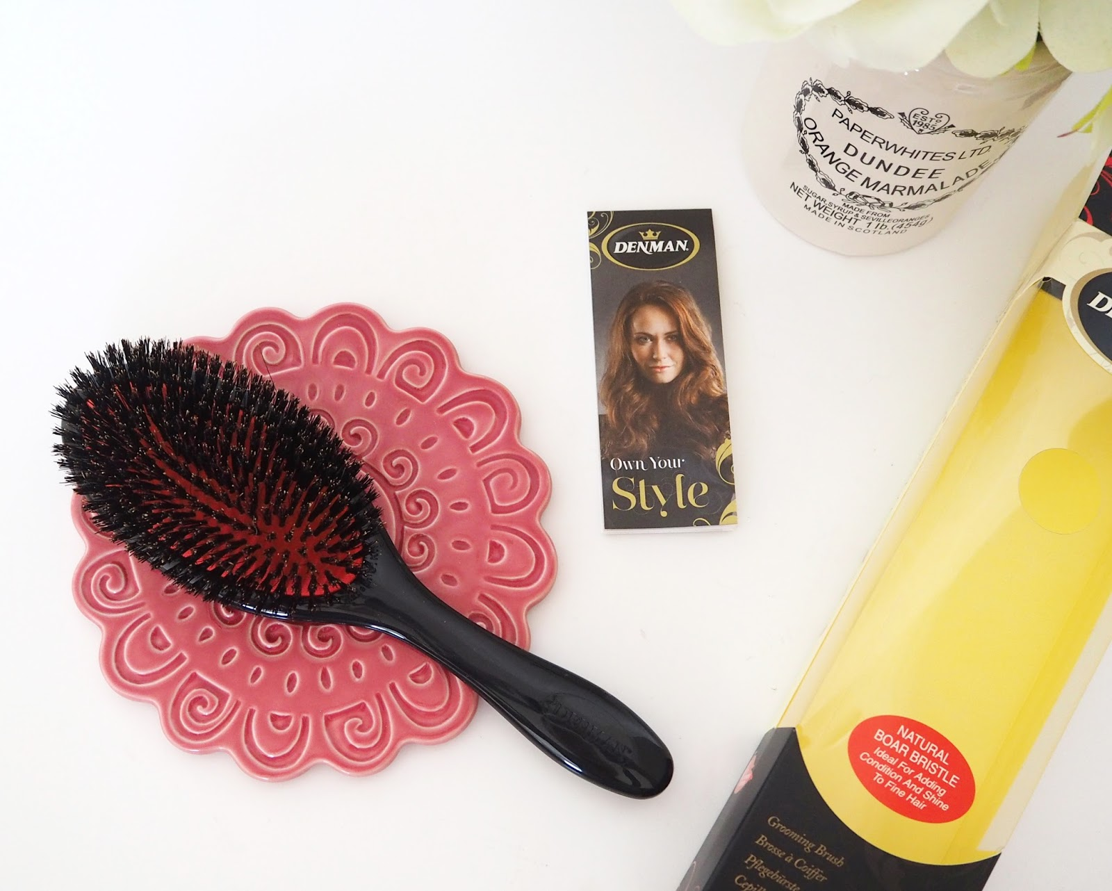 Denman Boar Bristle Hairbrush, Beauty Review, Haircare, Katie Kirk Loves