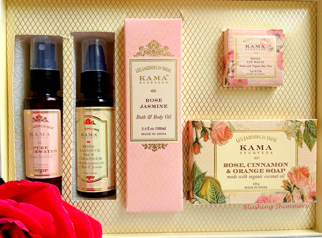 Kama Ayurveda Rose Essential Box