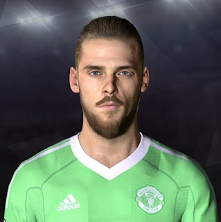 PES 2017 Faces David De Gea by Facemaker Ahmed El Shenawy