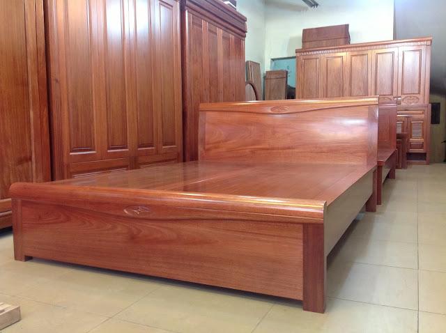 Mẫu giường được đặt theo thiết kế cũng như yêu cầu của khách hàng