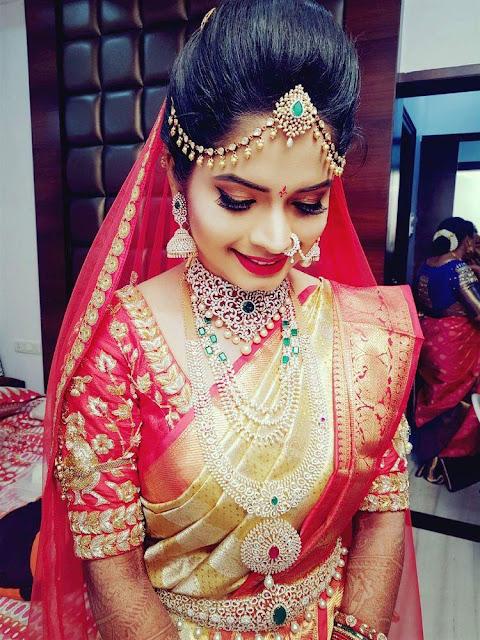 Brides in Rich and grandeur Diamond Sets