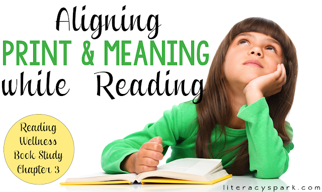Do your students attend to both print and meaning while reading? Does your instruction give equal attention to both? Chapter 3 in Reading Wellness provides a fun lesson for helping students learn to do this!