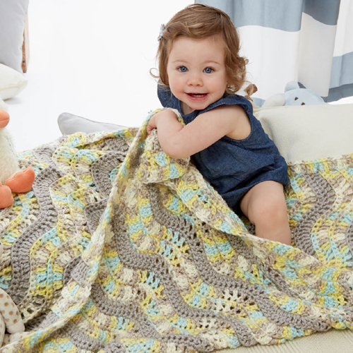 Making Waves Baby Blanket - Free Pattern