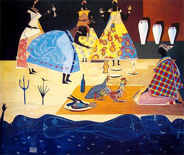 Baiana - Carybé ~ Um pintor fascinado pela cultura da Bahia