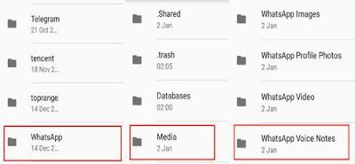 whatsapp folders