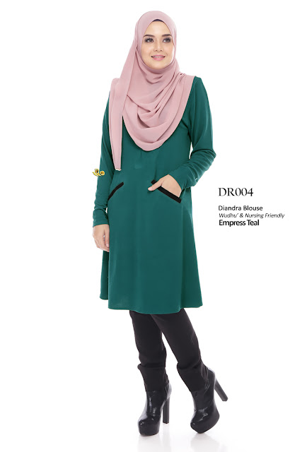 blouse diandra plus size nursing