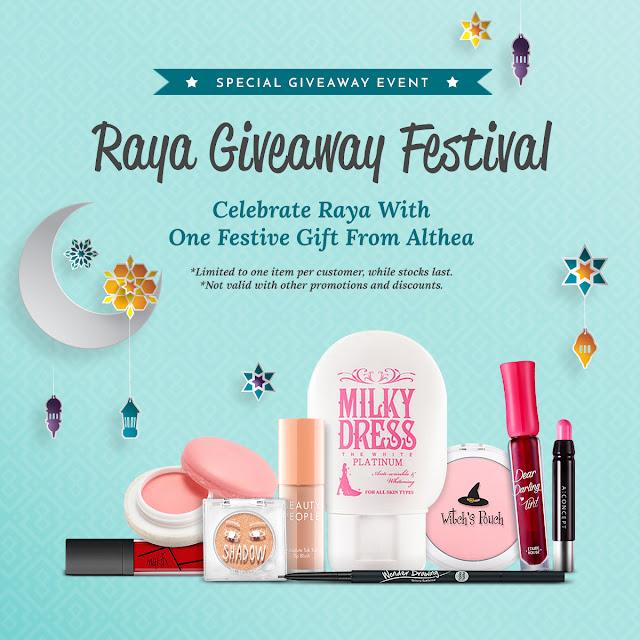 Althea Raya Giveaway Festival, althea korea, althea box, althea malaysia,