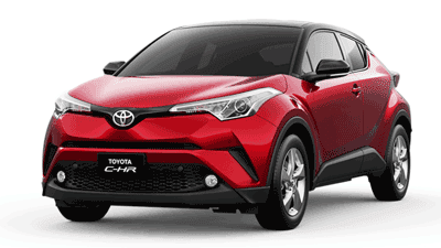 Mobil Baru Toyota CHR Model 2018