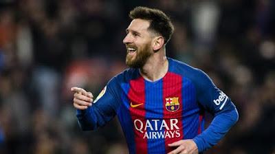 Akhirnya Messi Perpanjang Kontrak di Barca
