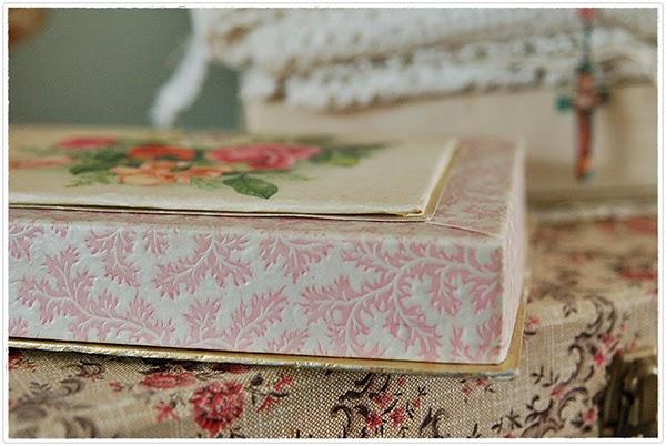 vintage handkerchief boxes