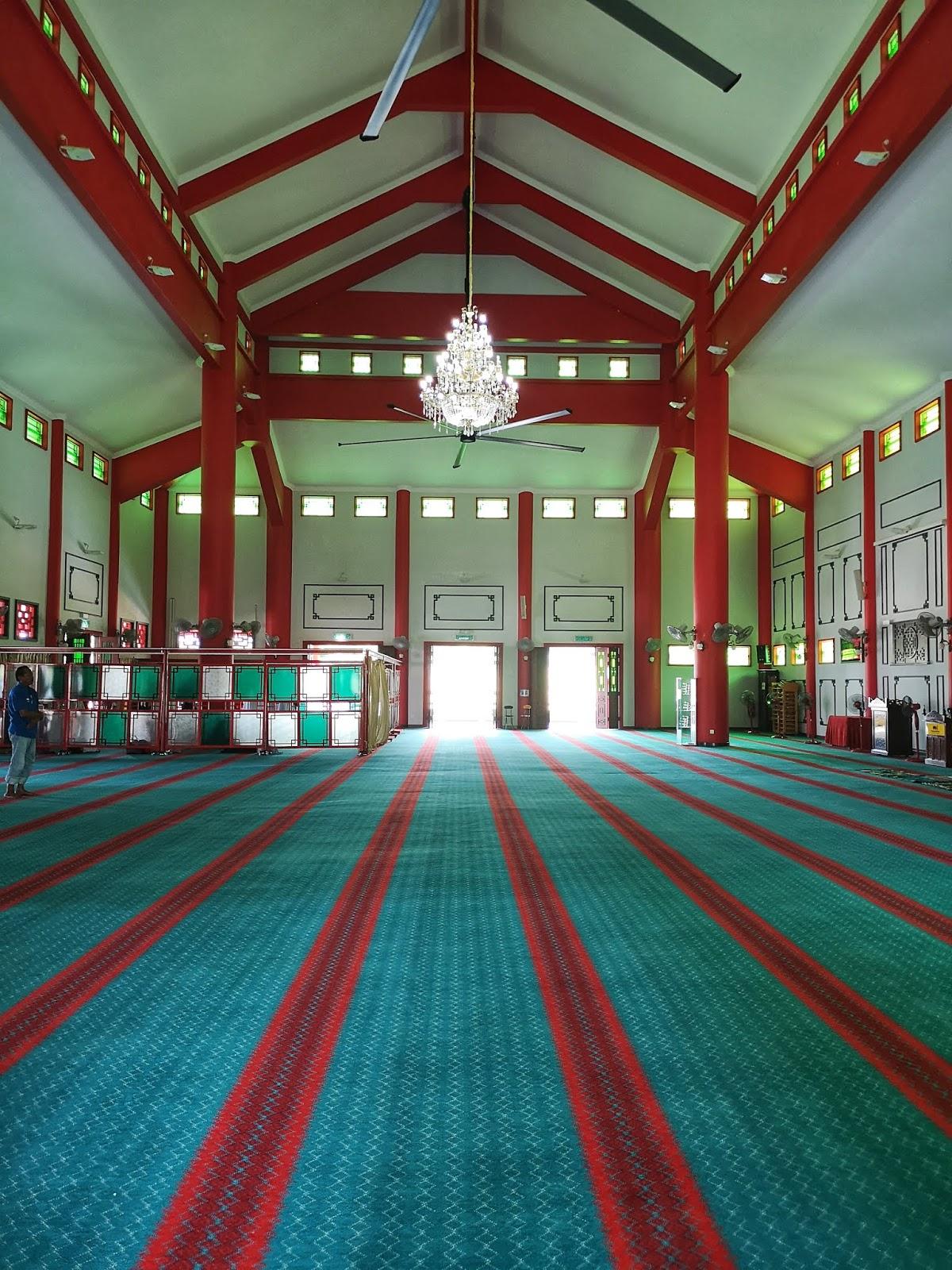 Rekabentuk binaaan Masjid Cina Krubong, Melaka 3