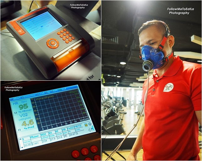 Mohd Zaidi, Senior Personal Trainer Demonstrates The Vo2 Max Test