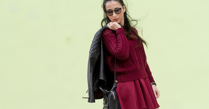 Double Oxblood Outfit With Or Without Shoes Blog