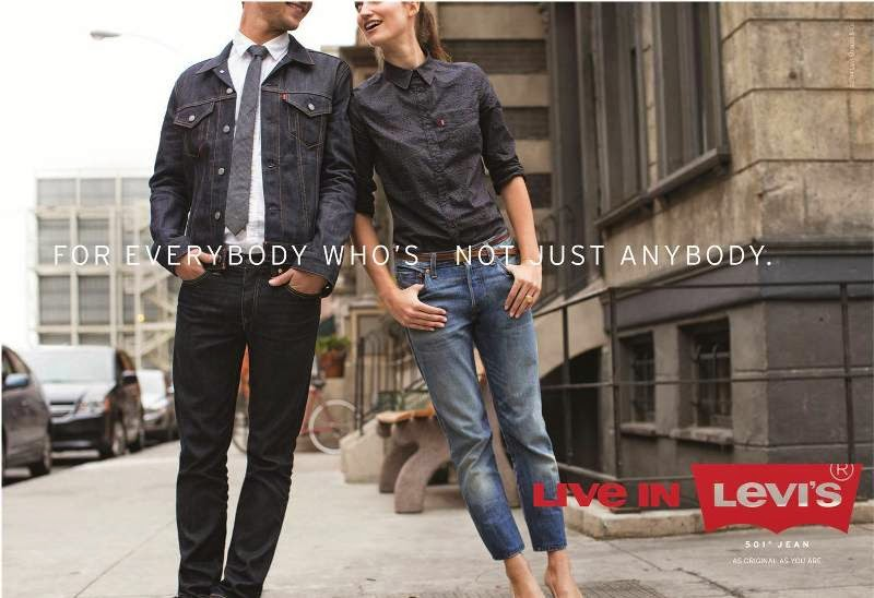 media levi jeans campaign essay In the mid-1980s, levi's launched a campaign promoting its classic 501s, which rekindled excitement and demand for the five-pocket jean originally introduced more than 100 years earlier.