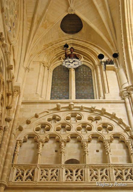 Papamoscas catedral de Burgos