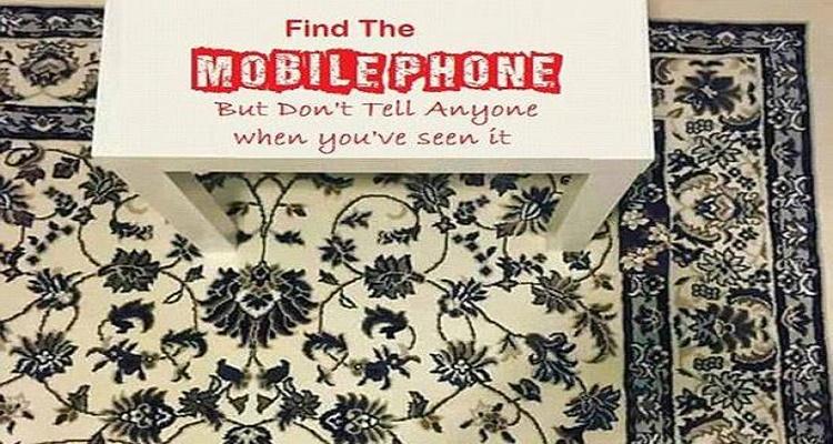 لقطة حيرت الجميع.. أين الهاتف في الصورة