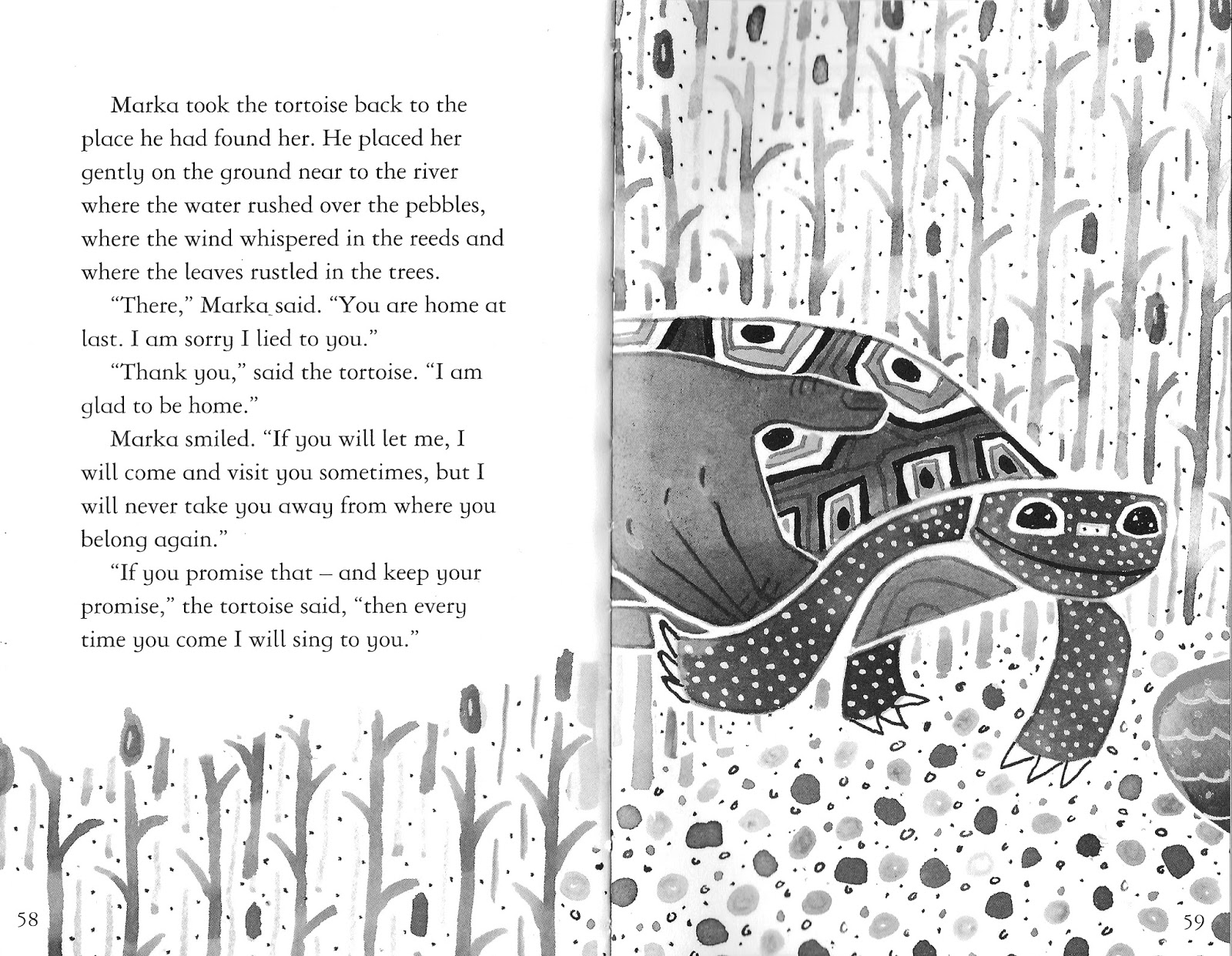 anna violet: Illustrations for \'The Singing Tortoise\'
