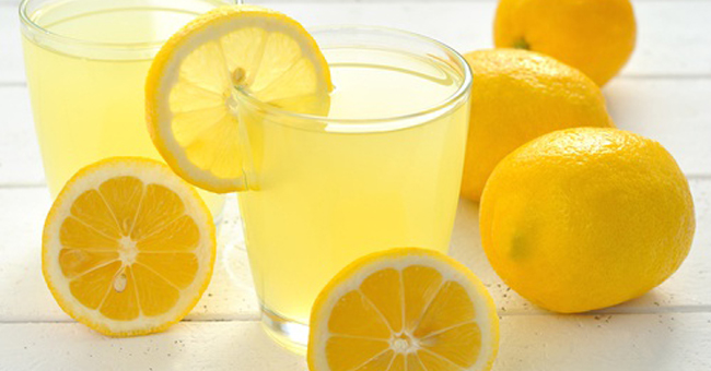 weight loss, lemon juice