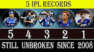 5 all-time IPL records that are unlikely to be broken (IPL के 5 रिकॉर्ड जो कभी नहीं टूटेंगे )