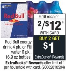 Red Bull energy drink cvs deal