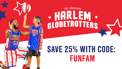Spend a Night Out with the Harlem Globetrotters