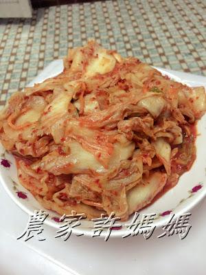 快來嘗試農家許媽媽韓式泡菜