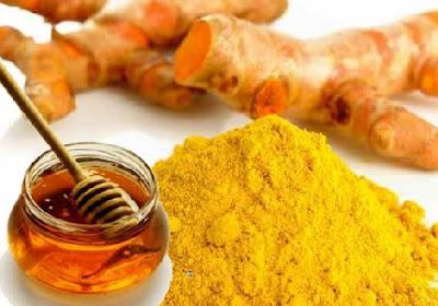 Mật ong kết hợp với tinh bột nghệ giúp tăng cân lành mạnh