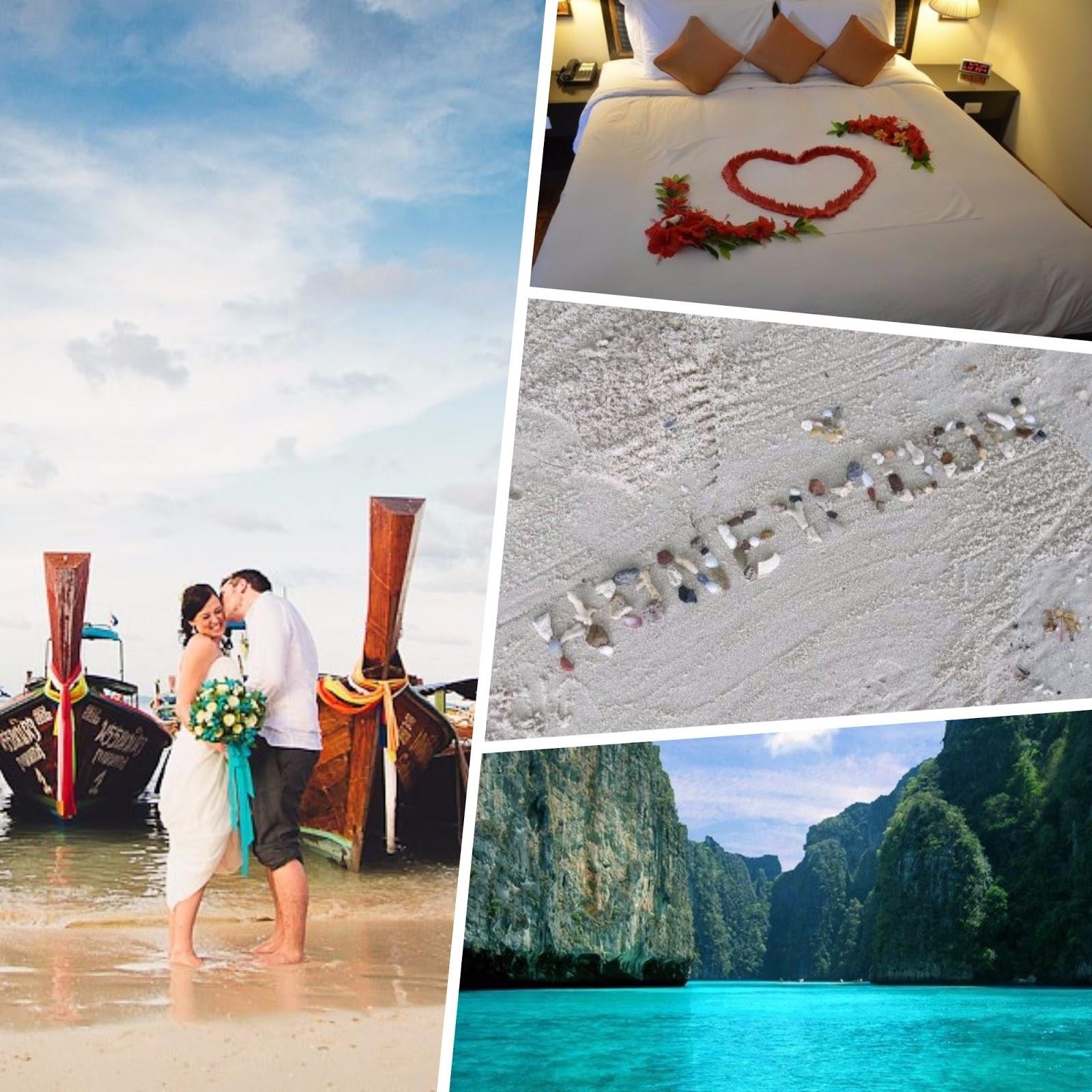 amazingexplore Romantic Honeymoon Destinations, Ko Phi Phi Le Thailand