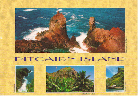 Postcard from Pitcairn Island