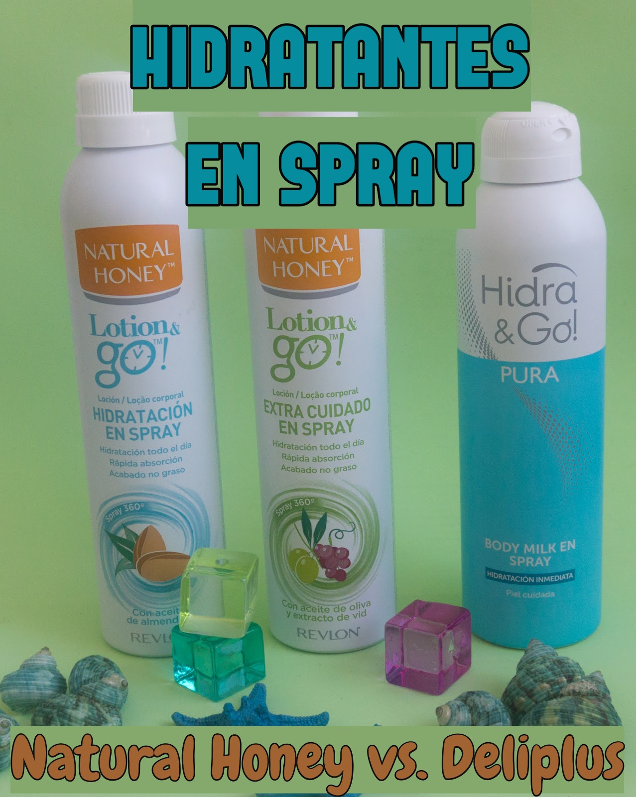 e9495468b Hidratantes corporales en spray: ¿Merecen la pena? Comparativa Natural  Honey vs. Deliplus