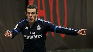 Garet Bale autor de dos de los goles de la victoria del Rela Madrid en el estadio del Rayo Vallecano