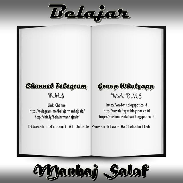 Deskripsi dan Peraturan Group, WA BMS, Whatsapp Ummahat, Salafiyat Indonesia, Belajar Al Haq, wa bms, belajar manhaj salaf, manhaj salaf, grup salafiyyat, grup akhwat
