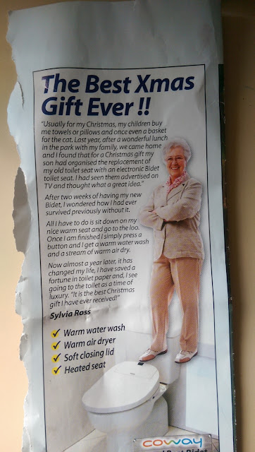 Toilet improvements for the elderly