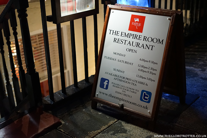 The Empire Room Restaurant in Ramsgate