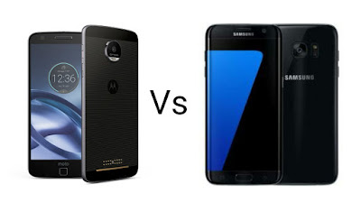 Moto Z Vs Samsung Galaxy S7 Edge