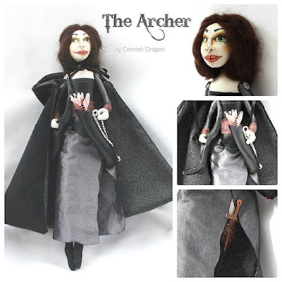 the archer art doll