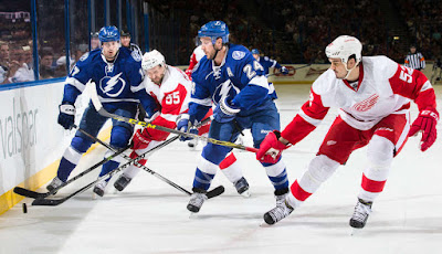 NHL : Lightning go for Season Sweep Over Red Wings