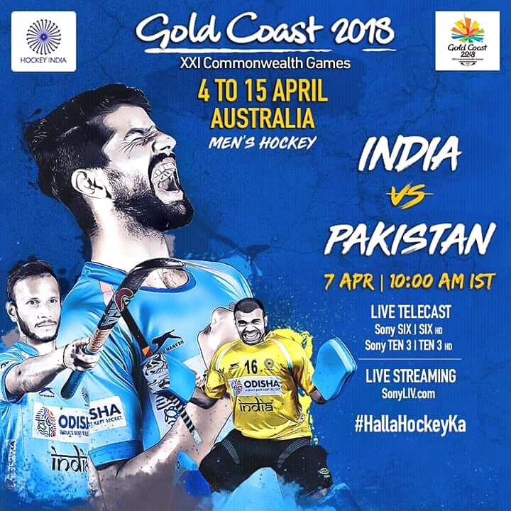CWG2018, India vs Pakistan: When And Where To Watch, 2018 Commonwealth Games, India vs Pakistan Men's Hockey Match, Live Coverage On TV, Live Streaming Online