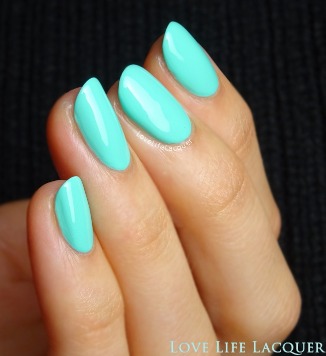 Sophin Cosmetics 54 teal swatch