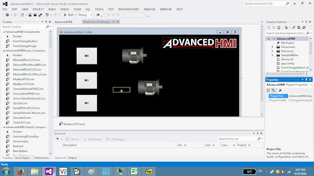 advanced hmi
