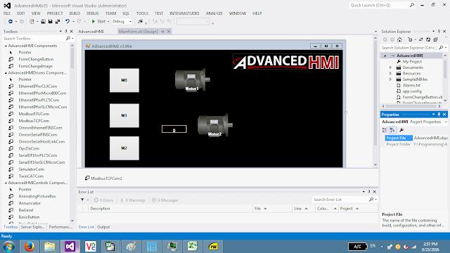 advanced hmi