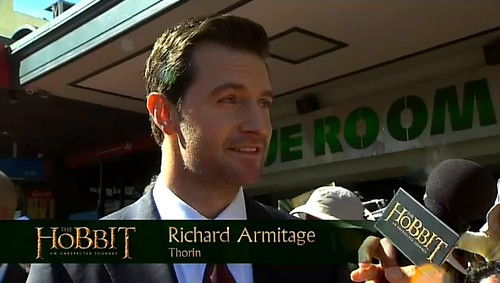 More Richard Armitage Photos at The Hobbit Premiere
