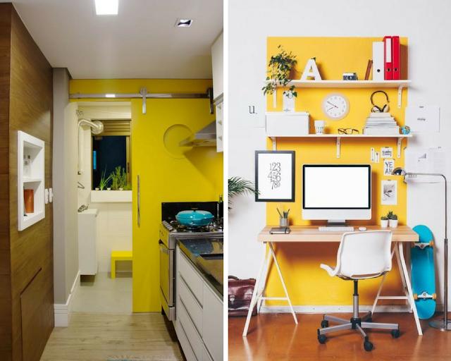 Decoração: Cor Amarela